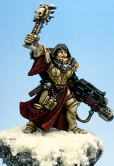 sister of battle canoness darklined